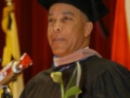 Nat Alston at UMUC European Commencement